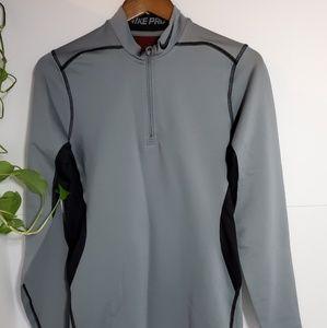 🛑3/$30Men Nike Pro long sleeve half zip top